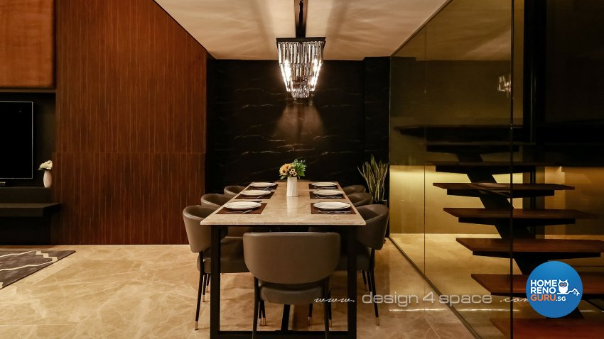 Modern Design - Dining Room - Landed House - Design by Design 4 Space Pte Ltd