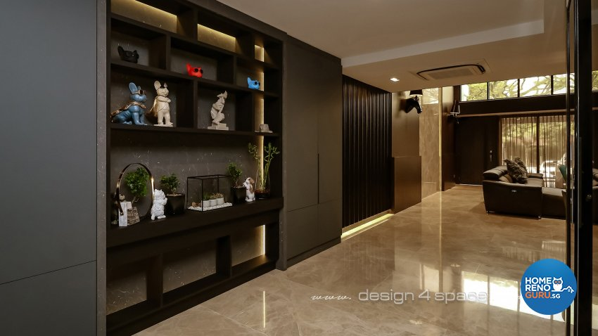Modern Design - Living Room - Landed House - Design by Design 4 Space Pte Ltd