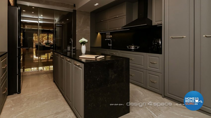 Modern Design - Kitchen - Landed House - Design by Design 4 Space Pte Ltd