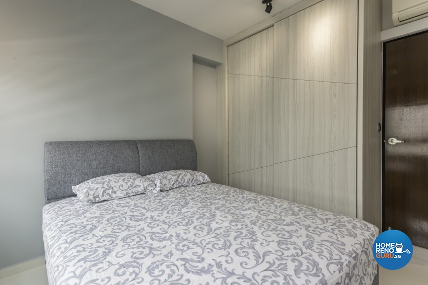 Contemporary, Modern Design - Bedroom - HDB 4 Room - Design by Design 4 Space Pte Ltd