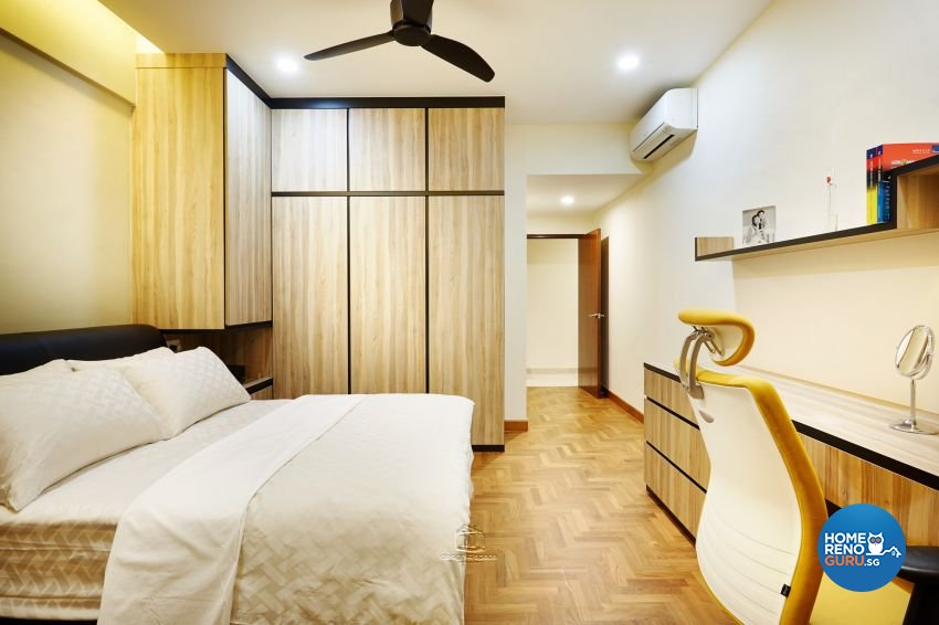 Industrial Design - Bedroom - Condominium - Design by Design 4 Space Pte Ltd