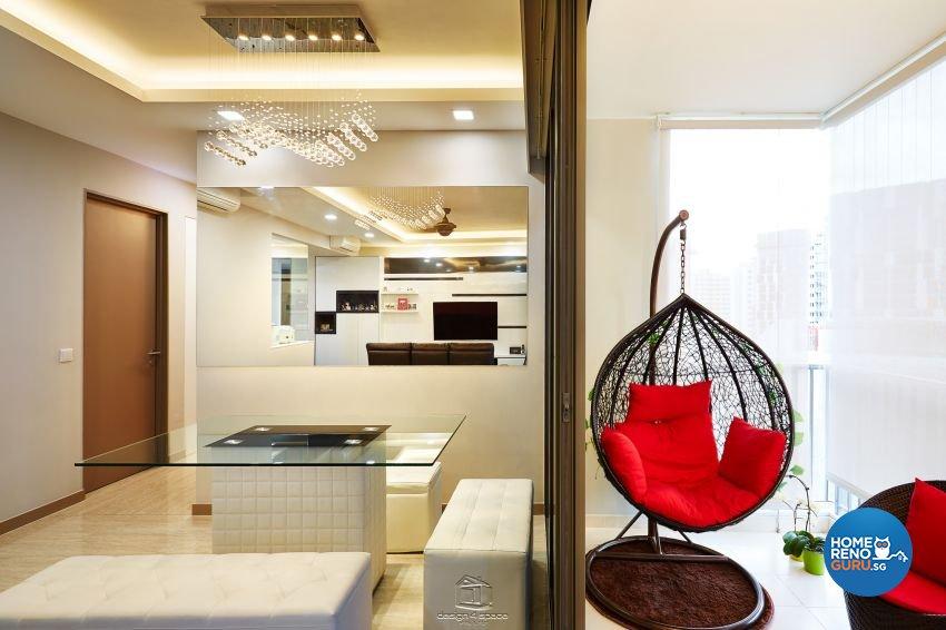 Contemporary, Modern Design - Dining Room - Condominium - Design by Design 4 Space Pte Ltd