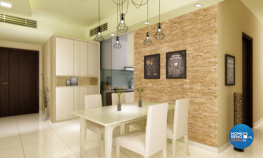 Scandinavian Design - Dining Room - Condominium - Design by Design 88 Interior & Consultant