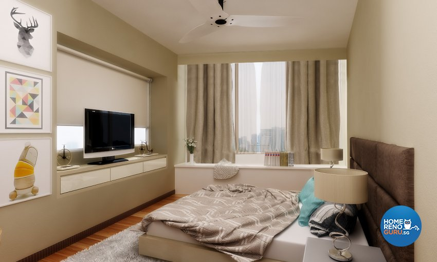 Scandinavian Design - Bedroom - Condominium - Design by Design 88 Interior & Consultant