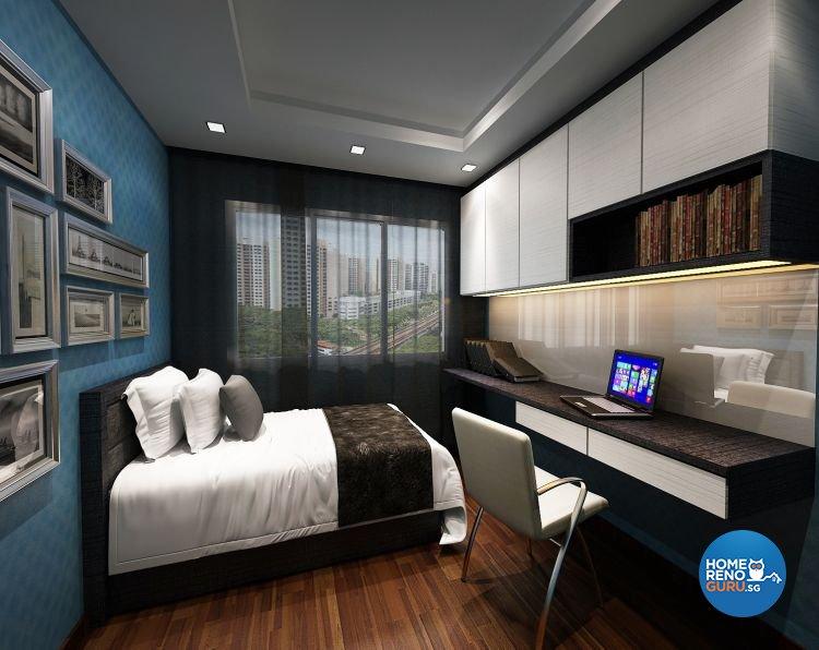 Contemporary, Modern Design - Bedroom - Condominium - Design by Design 88 Interior & Consultant