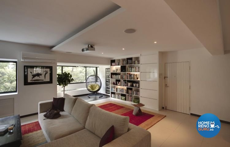 Contemporary, Minimalist Design - Living Room - Landed House - Design by Design Channel