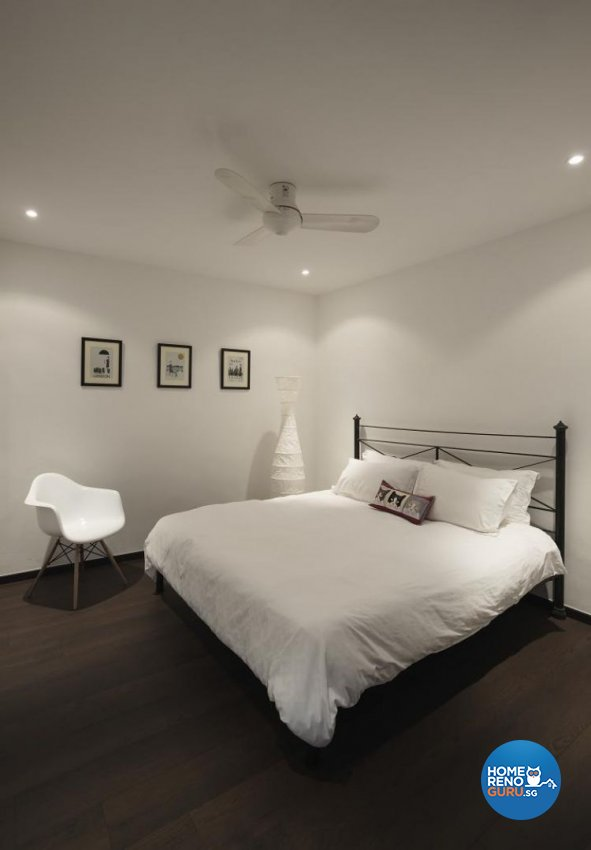 Contemporary, Minimalist Design - Bedroom - Landed House - Design by Design Channel