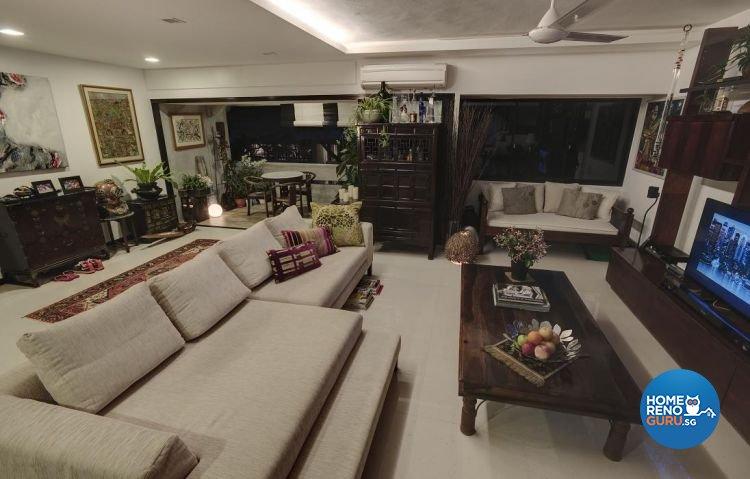 Modern, Tropical Design - Living Room - Landed House - Design by Design Channel