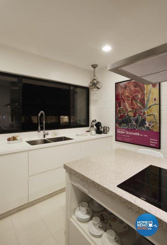Modern, Tropical Design - Kitchen - Landed House - Design by Design Channel