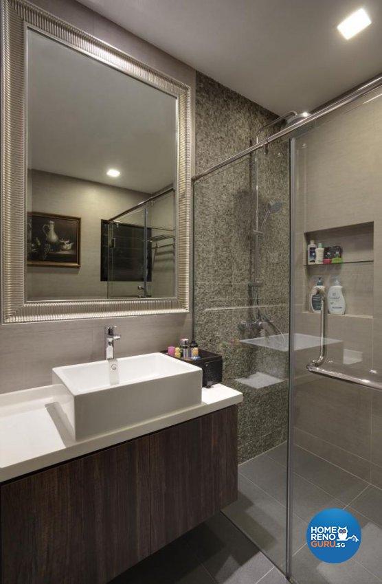 Modern, Tropical Design - Bathroom - Landed House - Design by Design Channel