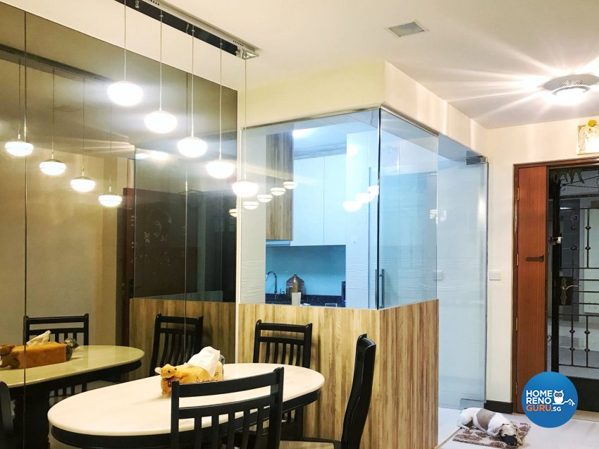 Contemporary, Scandinavian Design - Dining Room - HDB 3 Room - Design by Design Creative Pte Ltd