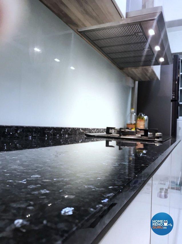 Contemporary, Scandinavian Design - Kitchen - HDB 3 Room - Design by Design Creative Pte Ltd