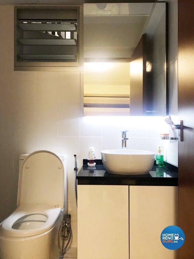 Contemporary, Scandinavian Design - Bathroom - HDB 3 Room - Design by Design Creative Pte Ltd