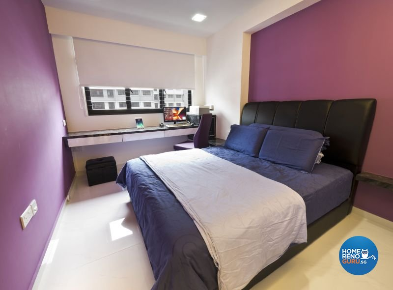 Classical, Minimalist, Modern Design - Bedroom - HDB 4 Room - Design by Design Profession Pte Ltd