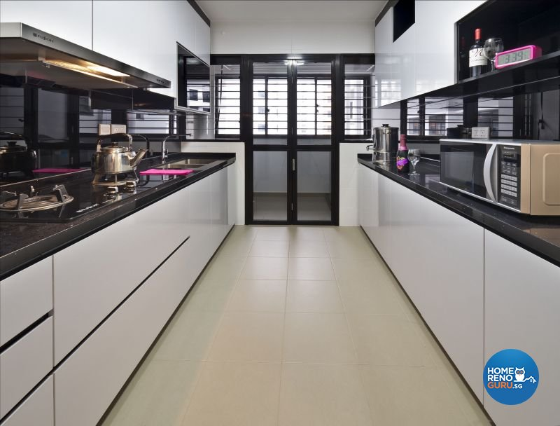 Classical, Minimalist, Modern Design - Kitchen - HDB 4 Room - Design by Design Profession Pte Ltd