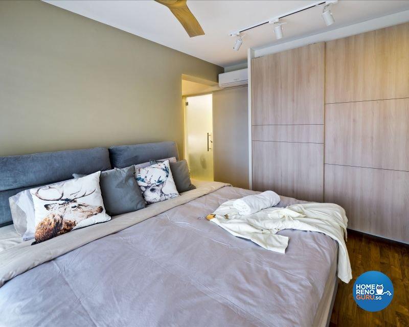 Contemporary, Modern, Scandinavian Design - Bedroom - HDB 4 Room - Design by Design Profession Pte Ltd