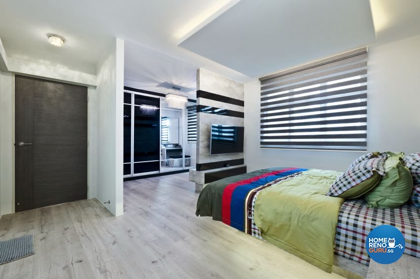 Classical, Contemporary, Modern Design - Bedroom - HDB 5 Room - Design by Design Profession Pte Ltd