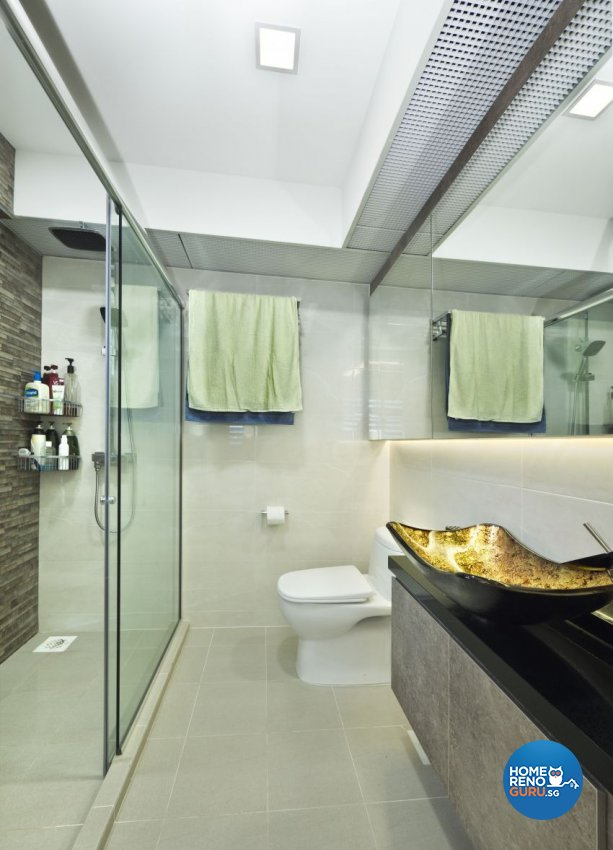 Classical, Contemporary, Modern Design - Bathroom - HDB 5 Room - Design by Design Profession Pte Ltd