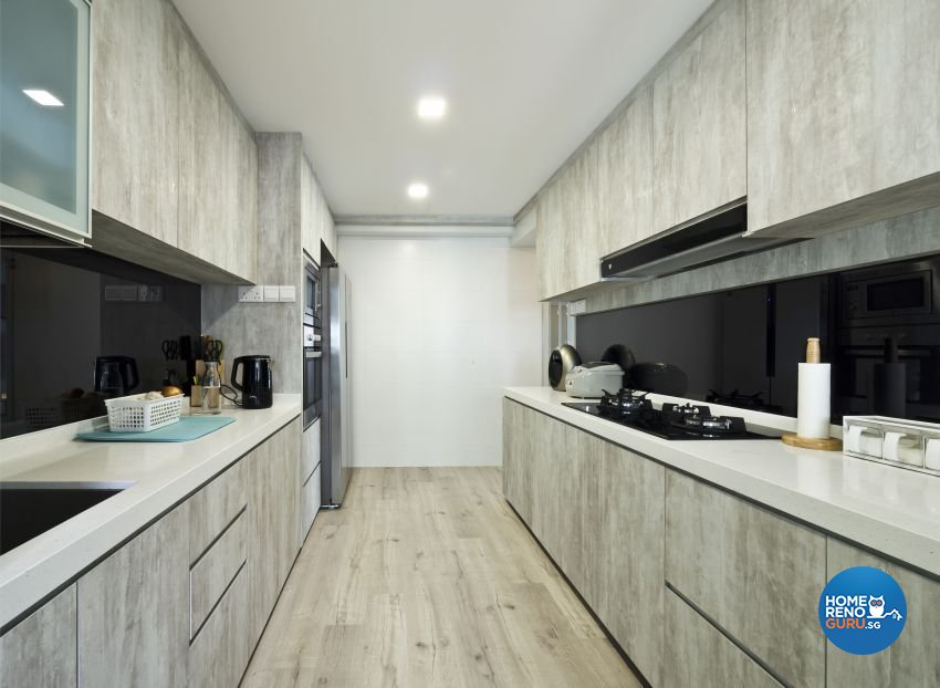 Classical, Contemporary, Modern Design - Kitchen - HDB 5 Room - Design by Design Profession Pte Ltd