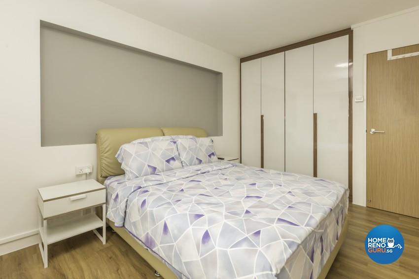 Modern Design - Bedroom - HDB 4 Room - Design by Design Profession Pte Ltd