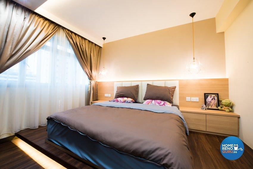 Contemporary, Resort, Scandinavian Design - Bedroom - HDB 4 Room - Design by Designstyle Studio Pte Ltd