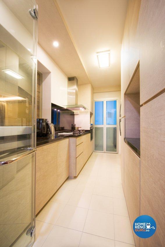 Contemporary, Resort, Scandinavian Design - Kitchen - HDB 4 Room - Design by Designstyle Studio Pte Ltd