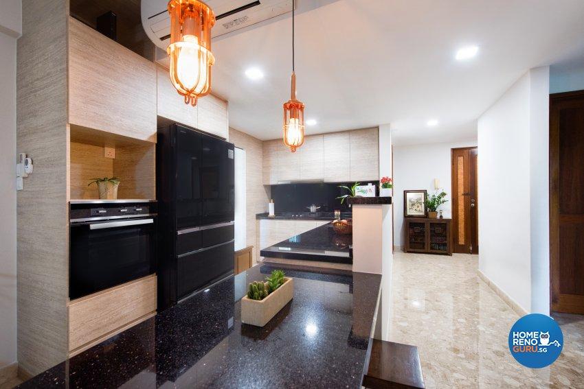 Resort, Scandinavian Design - Kitchen - Condominium - Design by Designstyle Studio Pte Ltd