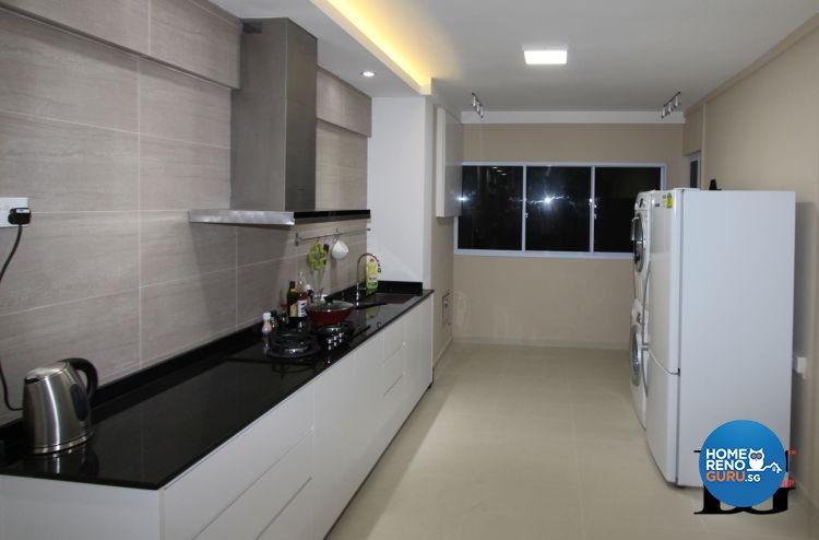 Contemporary, Modern Design - Kitchen - HDB 3 Room - Design by Designer Guy Group Pte Ltd