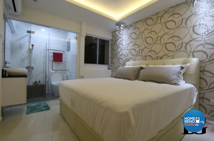 Contemporary, Modern Design - Bedroom - HDB 3 Room - Design by Designer Guy Group Pte Ltd