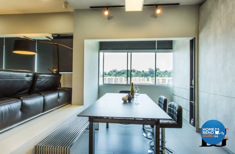 Modern, Scandinavian Design - Dining Room - Condominium - Design by Designer Guy Group Pte Ltd