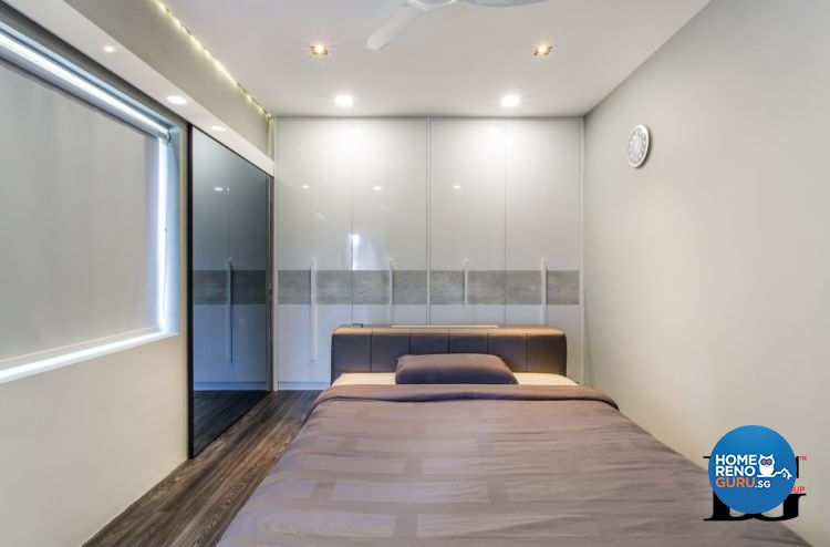 Modern, Scandinavian Design - Bedroom - Condominium - Design by Designer Guy Group Pte Ltd