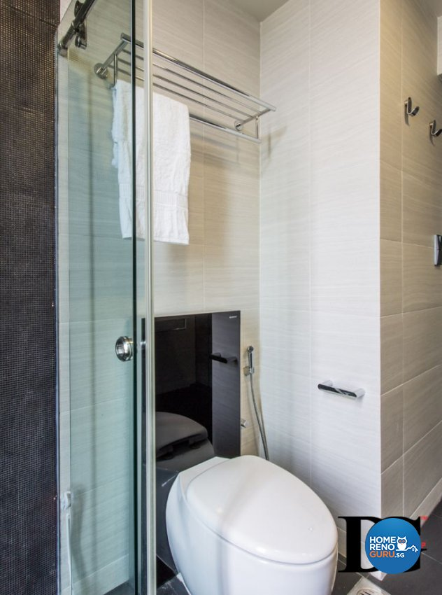 Modern, Scandinavian Design - Bathroom - Condominium - Design by Designer Guy Group Pte Ltd