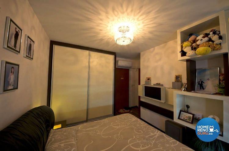 Contemporary, Modern Design - Bedroom - Condominium - Design by Designer Guy Group Pte Ltd