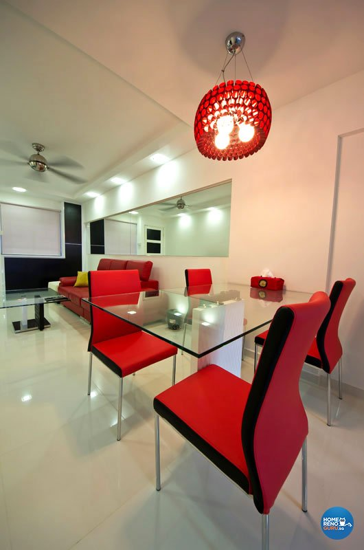 Contemporary, Modern Design - Dining Room - Condominium - Design by Designer Guy Group Pte Ltd