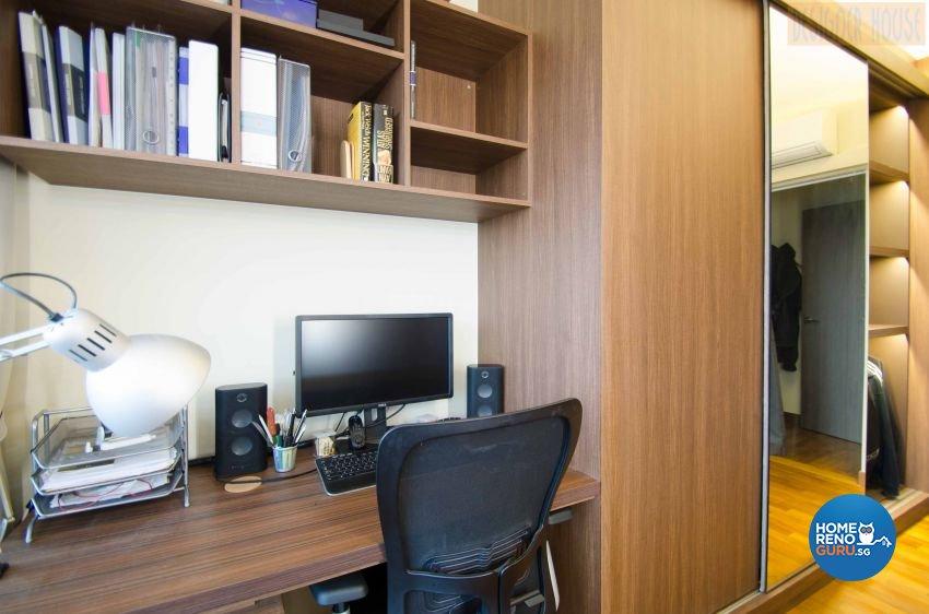 Modern Design - Bedroom - HDB Executive Apartment - Design by Designer House Pte Ltd