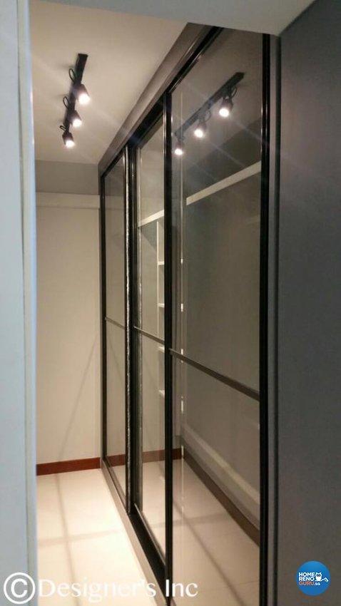 Contemporary, Modern Design - Bedroom - HDB 4 Room - Design by Designers Inc Pte Ltd