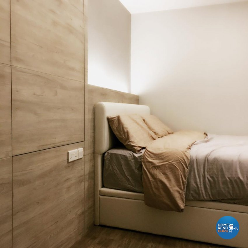 Scandinavian Design - Bedroom - HDB 4 Room - Design by Designscale Pte Ltd