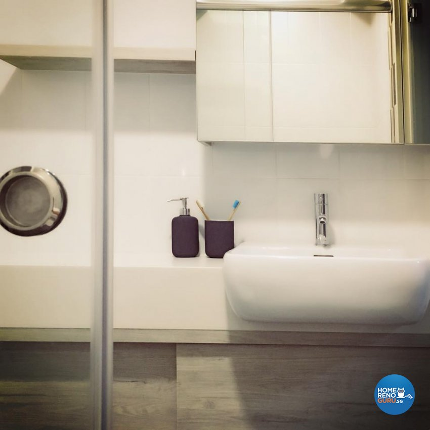 Scandinavian Design - Bathroom - HDB 4 Room - Design by Designscale Pte Ltd