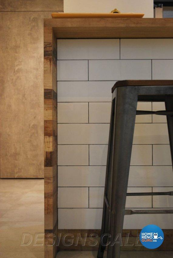 Contemporary Design - Kitchen - Condominium - Design by Designscale Pte Ltd