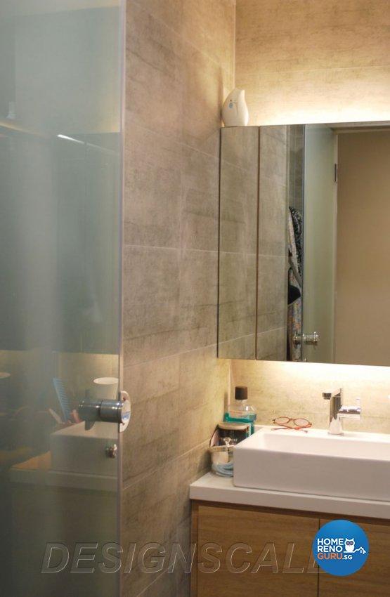 Contemporary Design - Bathroom - Condominium - Design by Designscale Pte Ltd