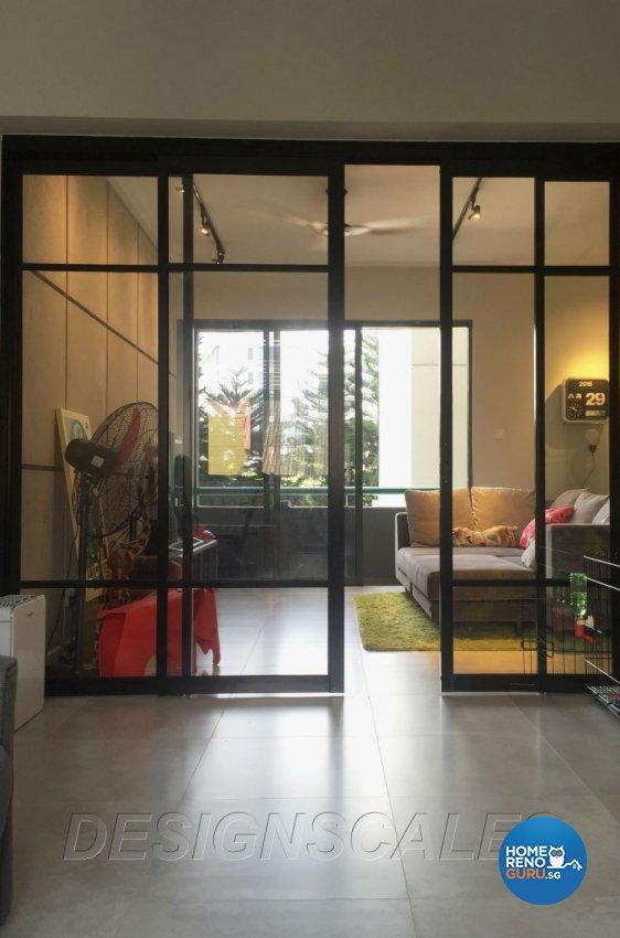 Contemporary Design - Entertainment Room - Condominium - Design by Designscale Pte Ltd