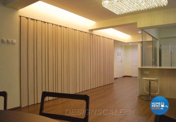 Contemporary, Tropical Design - Living Room - HDB 5 Room - Design by Designscale Pte Ltd