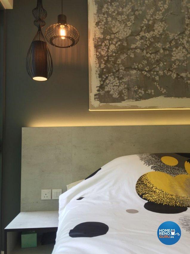 Contemporary, Industrial, Minimalist Design - Bedroom - Condominium - Design by Designscale Pte Ltd