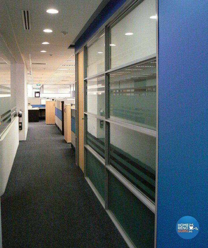 Modern Design - Commercial - Office - Design by Designscale Pte Ltd
