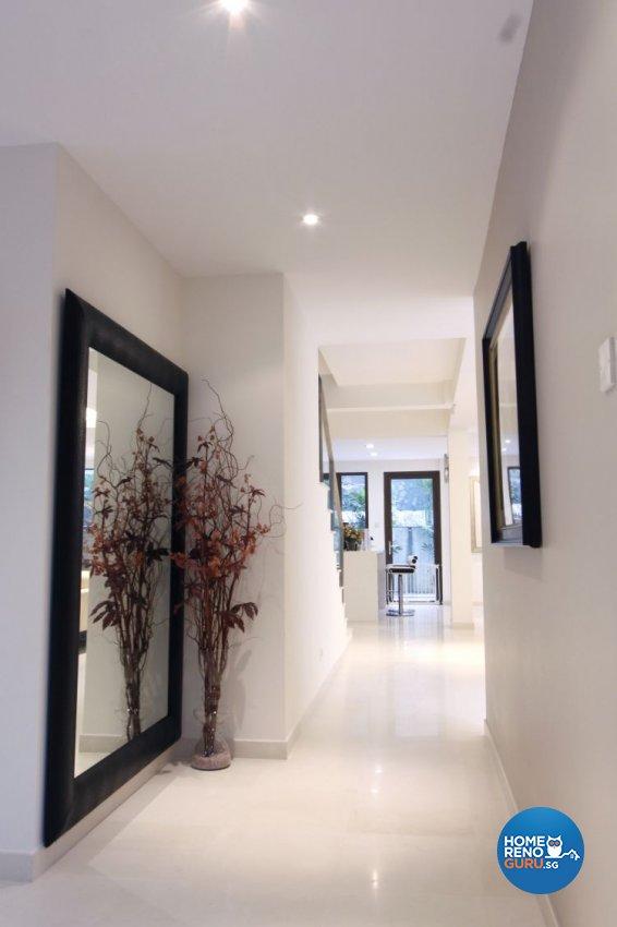 Contemporary, Modern Design - Living Room - Landed House - Design by Designscale Pte Ltd