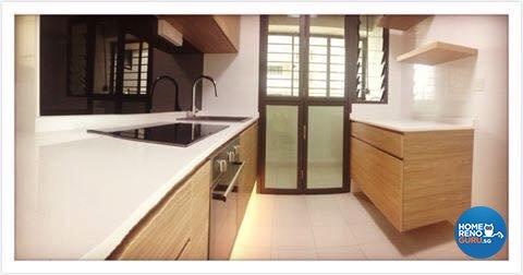 Contemporary, Minimalist, Scandinavian Design - Kitchen - HDB 4 Room - Design by Designscale Pte Ltd