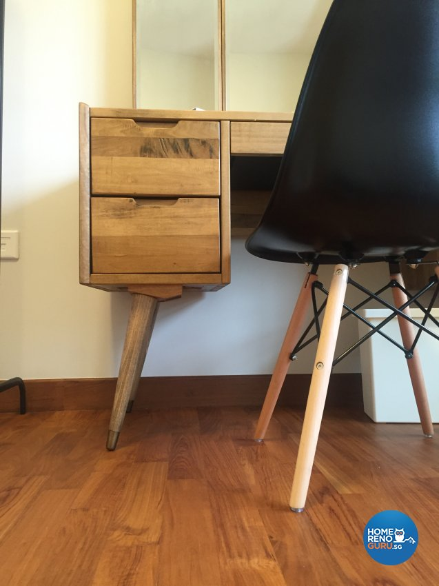 Contemporary, Minimalist, Scandinavian Design - Bedroom - HDB 4 Room - Design by Designscale Pte Ltd