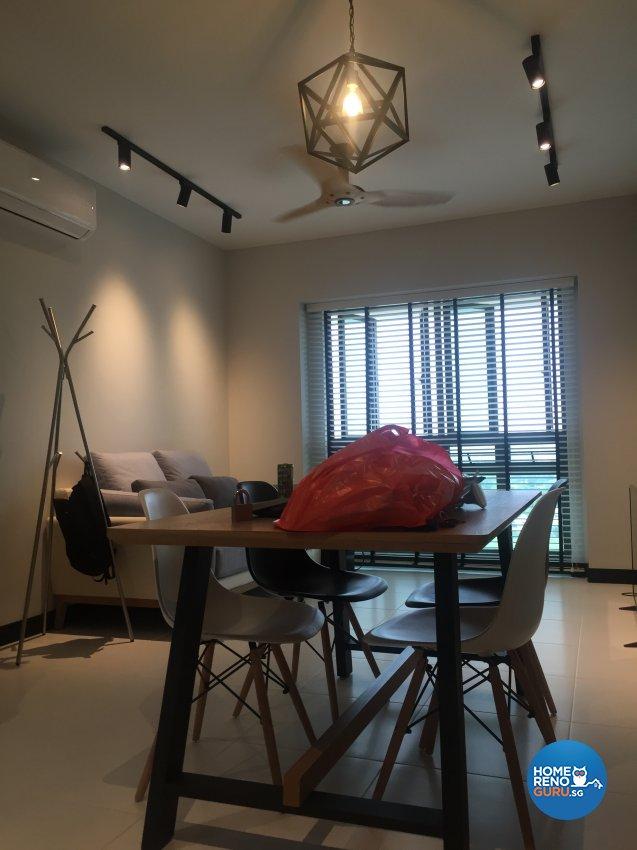 Contemporary, Minimalist, Scandinavian Design - Dining Room - HDB 4 Room - Design by Designscale Pte Ltd