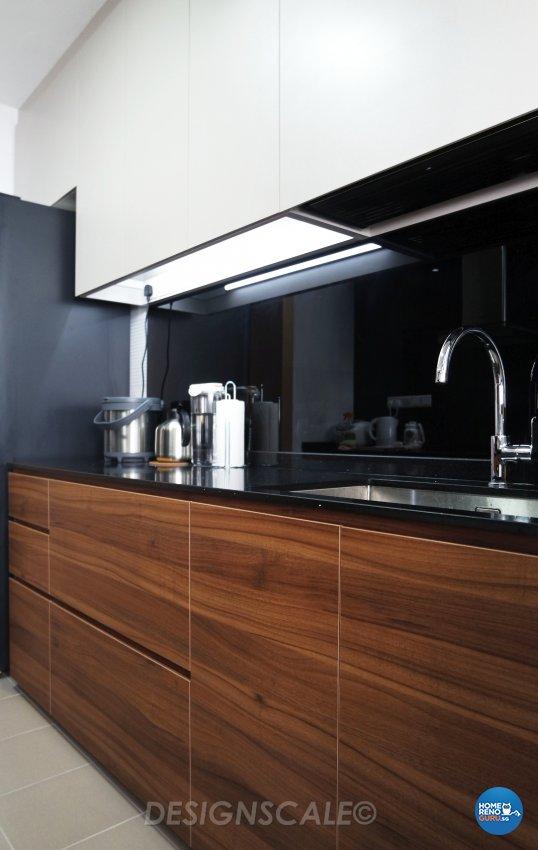 Modern Design - Kitchen - HDB 4 Room - Design by Designscale Pte Ltd