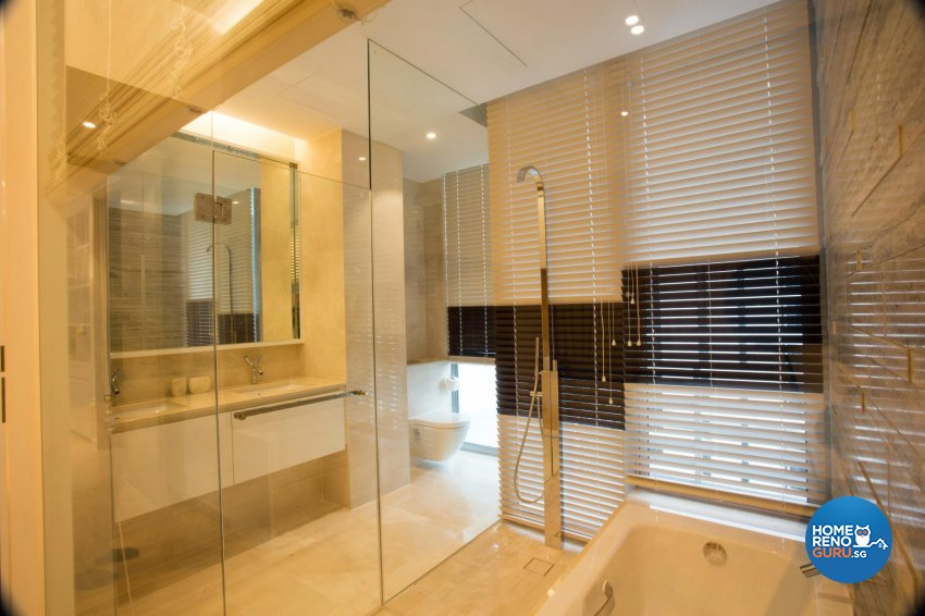 Contemporary, Modern Design - Bathroom - Condominium - Design by Designscale Pte Ltd